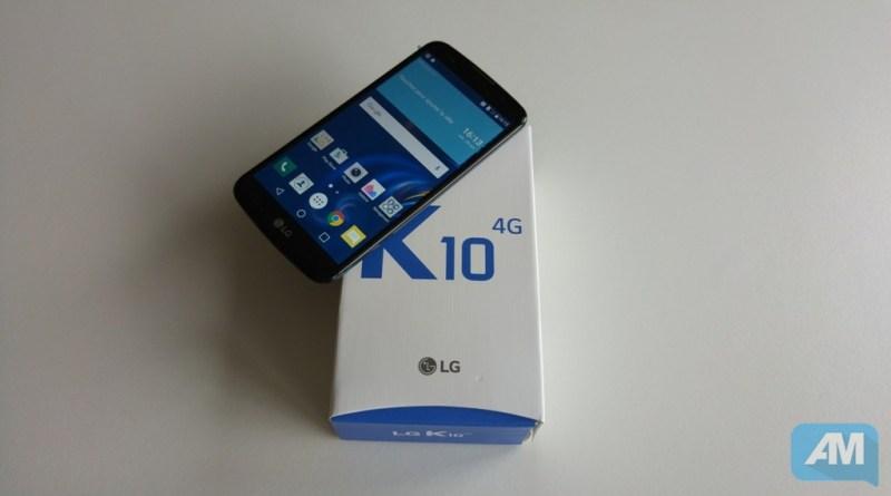 LG K10 Boîte