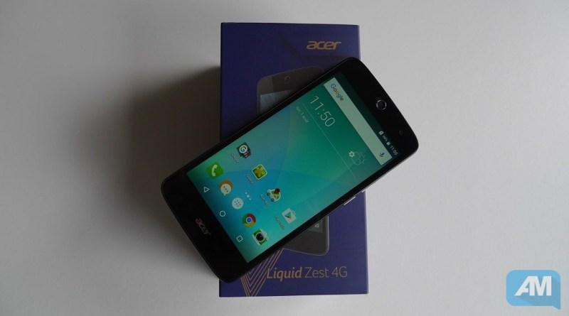 Acer Liquid Zest 4G Boîte