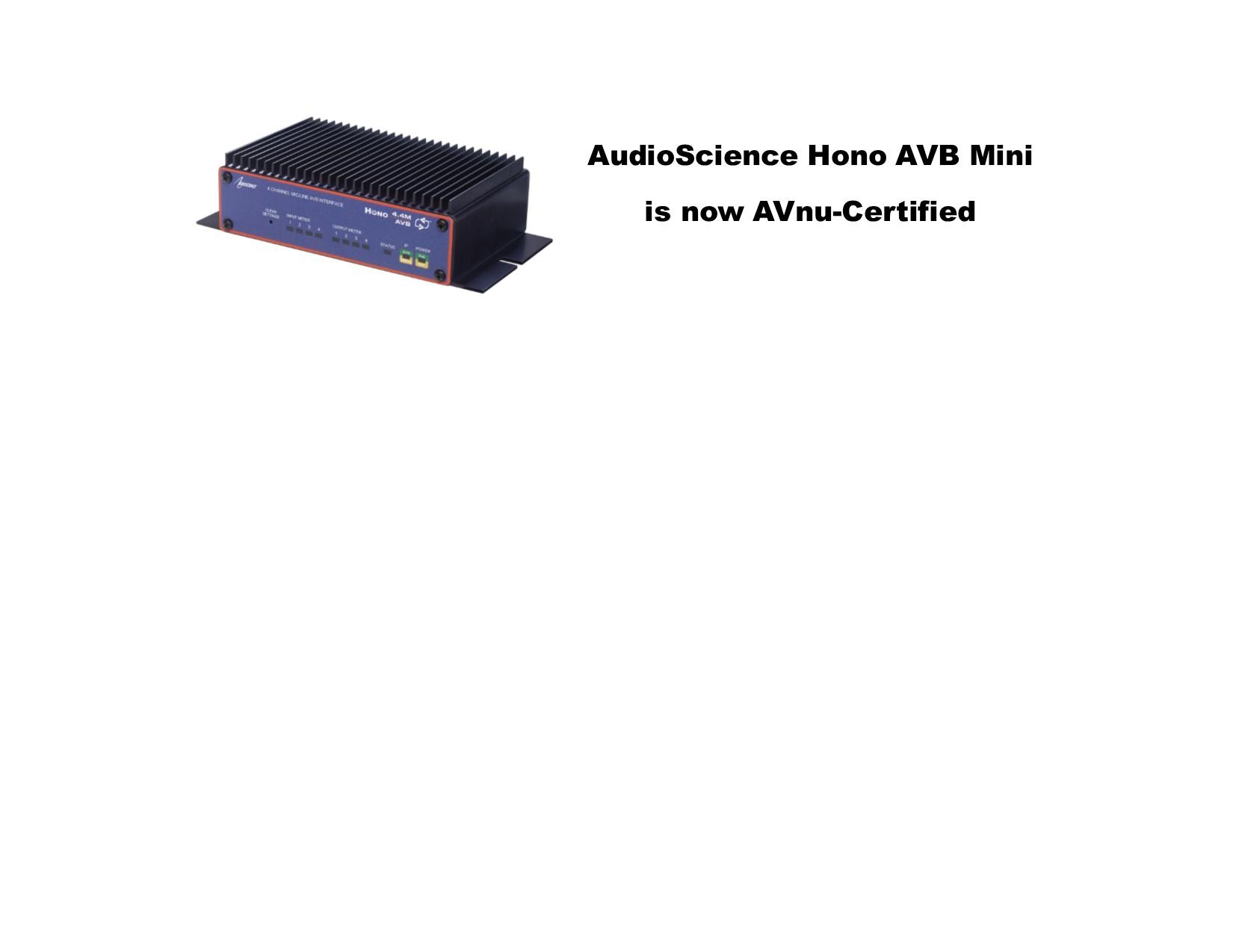 AudioScience-Hono-AVB-Mini