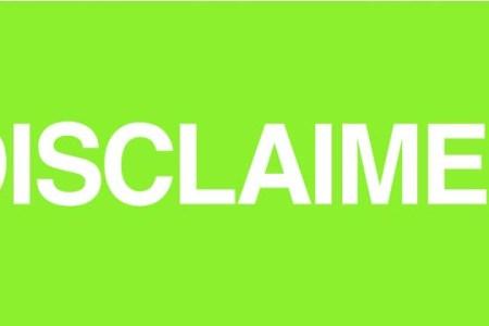 disclaimer | avoiding my brilliant writing career