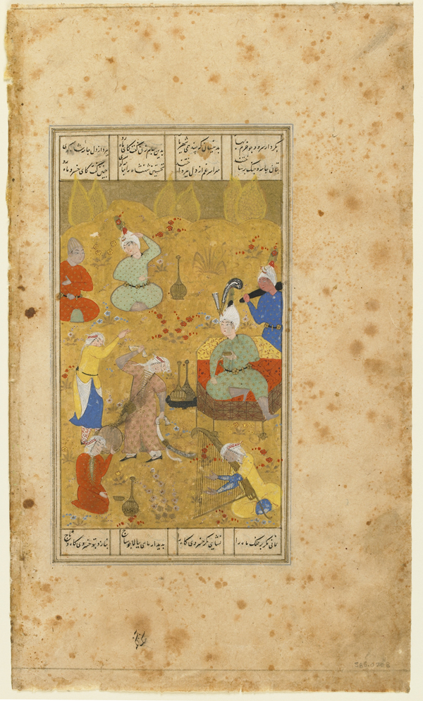 Dancers & musicians in the Shahnama (1/4)
