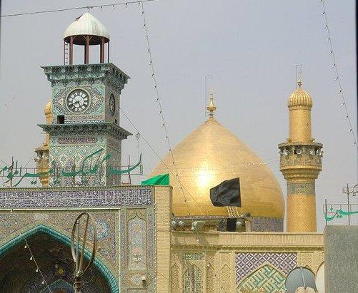Roza-e-Hazrat Ali (karam Allahu wajhu)