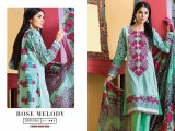 Satrangi Cambric Collection 2015 Rose Mady