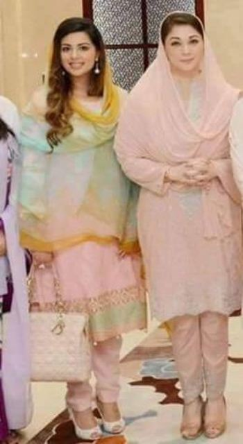 Nawaz Sharif Granddaughter Mehr un Nisa Marriage Pictures