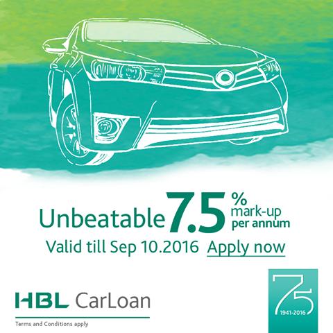 Hbl Car Loan Scheme