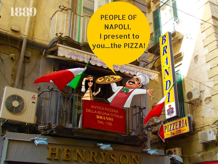 Poeple of Naples, I present to you....the PIZZA!
