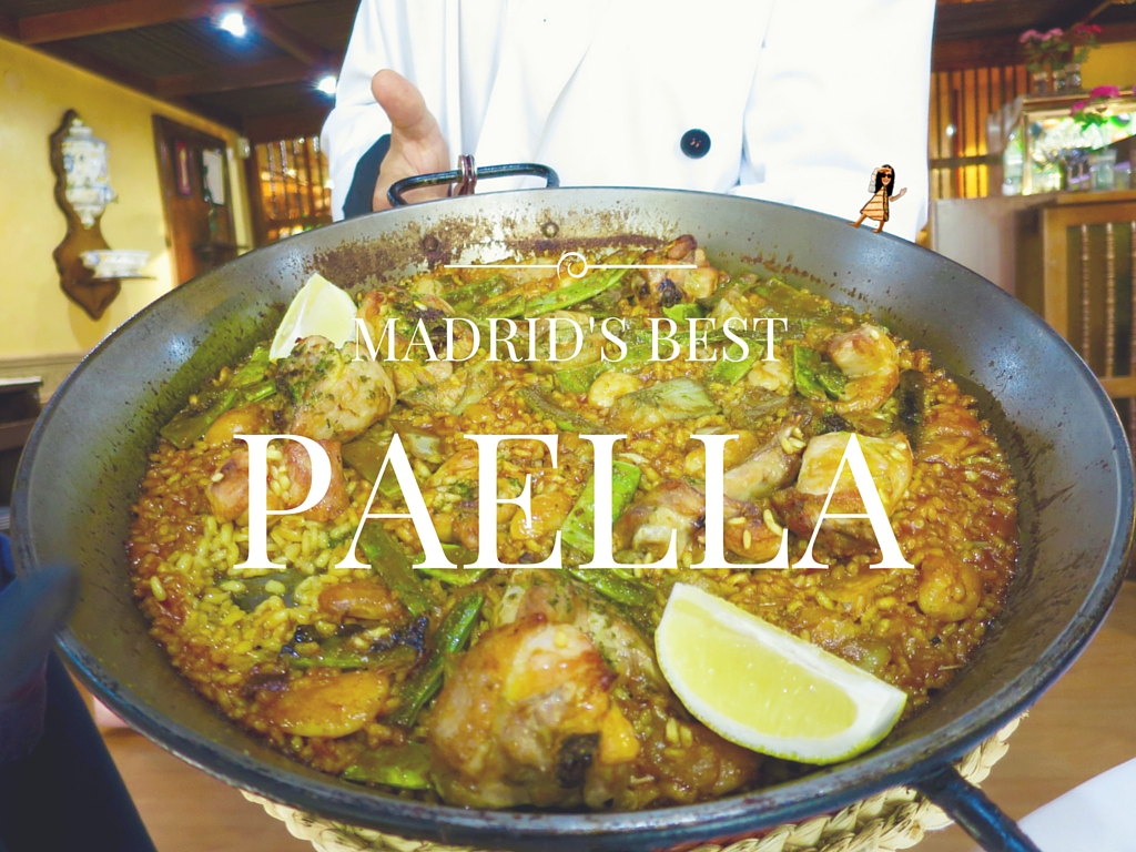 The Best Paella in Madrid (Valenciana Style)