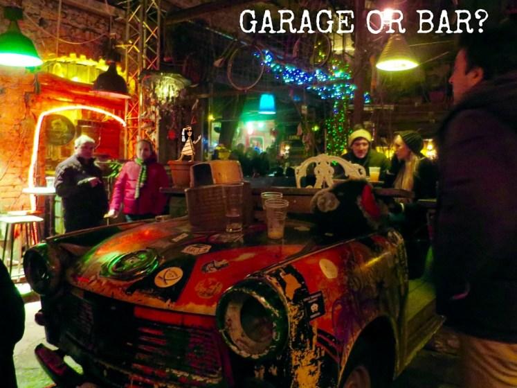 GARAGE OR BAR-