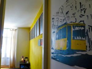 Happy walls, happy hostel!
