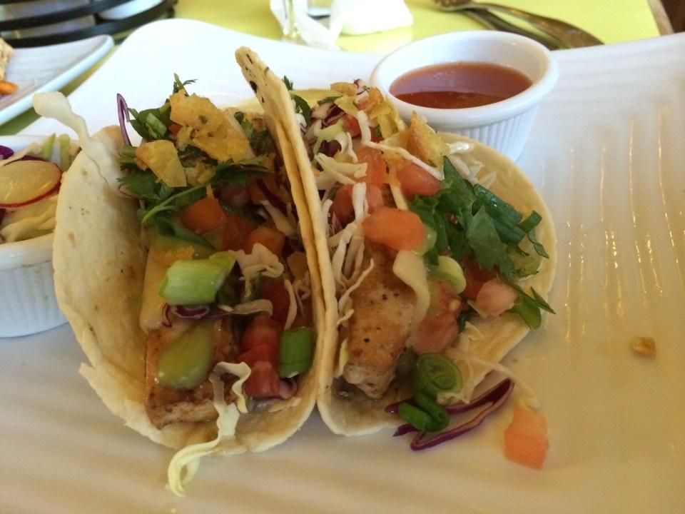 Fish Tacos at Sunshine Grill