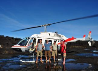Рорайма на вертолёте
