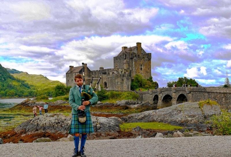 Шотландия в августе