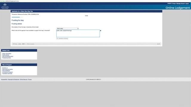 Австралийская виза онлайн