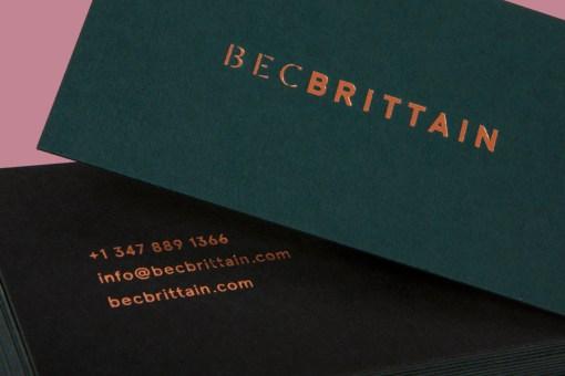 07-Bec-Brittain-Duplex-Foiled-Business-Cards-by-Lotta-Nieminen-on-BPO1