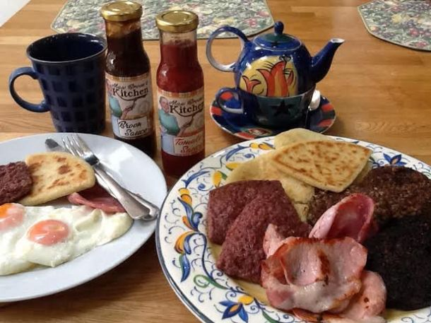 Maw Broon's sauces were the perfect accompaniment to Sunday breakfast