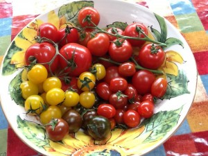 These super sweet tomatoes from Clyde Valley tomatoes are perfect for Greek salad