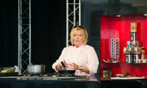 Chef Jacqueline O'Donnell will  be cooking up some of her favourite dishes.