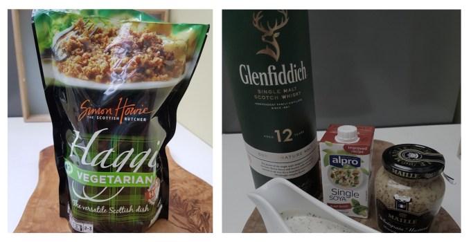 Vegan Haggis Roulade with Whisky Cream Sauce