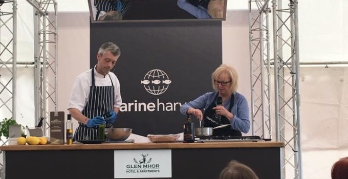 Marine Harvest Kitchen Theatre at Scotland's Salmon Festival
