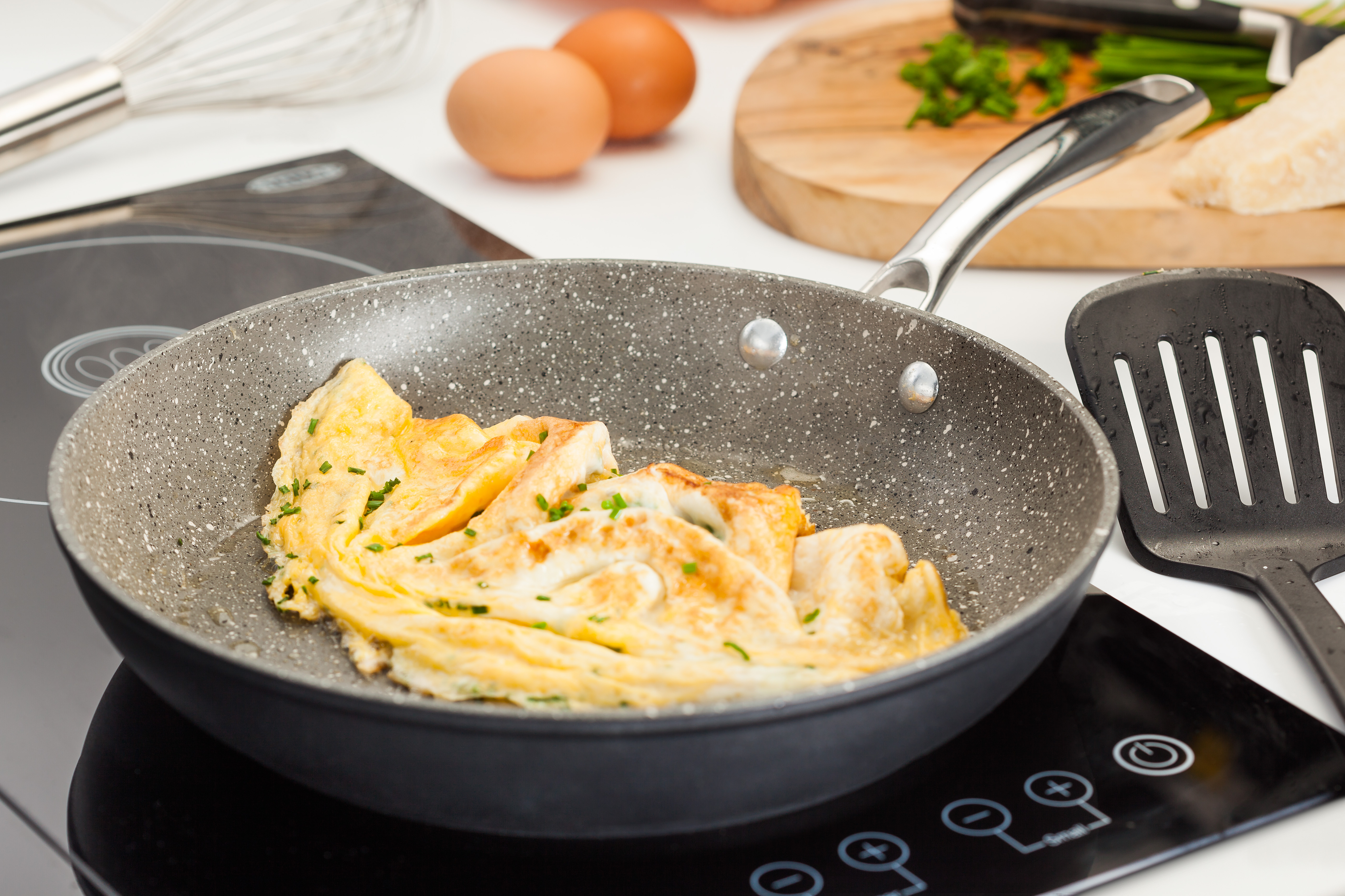 Stellar Cookware Rocktanium Frying Pan