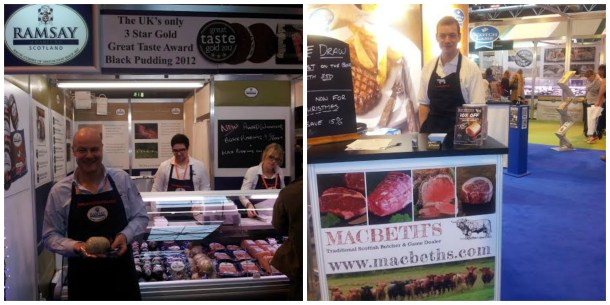 Showcasing some of Scotland's finest produce, Andrew Ramsay & Jock Gibson