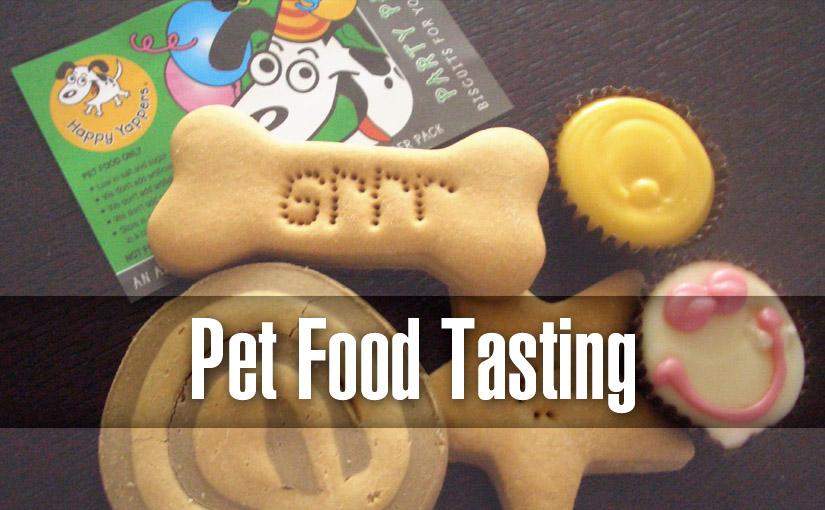 pet food tasting