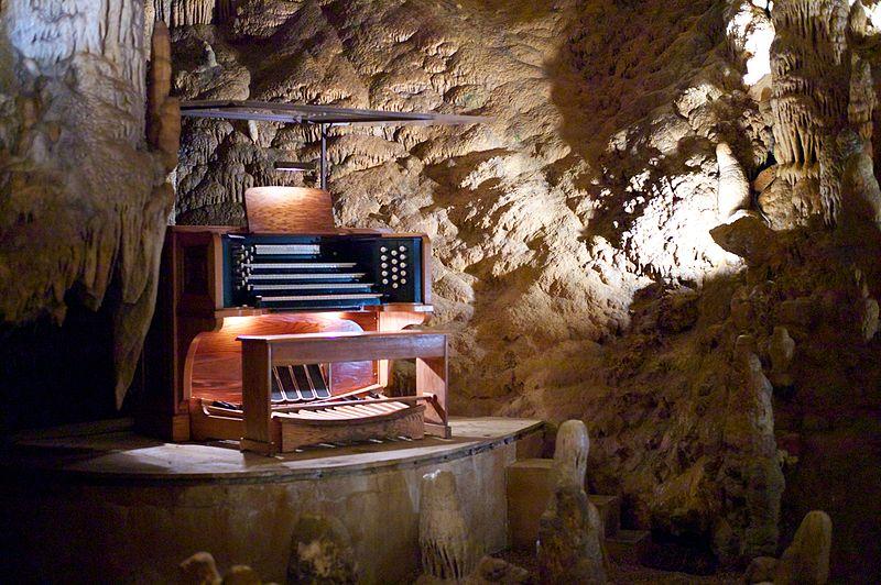Die Stalaktiten-Orgel in Virginia ist die größte Orgel der Welt