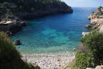 Türkises Meer vor  Mallorca