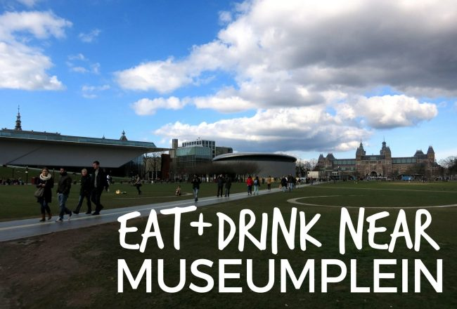 Looking for a restaurant near Museumplein? Here are some of our favorite spots to eat and drink close to Amsterdam's museum quarter.