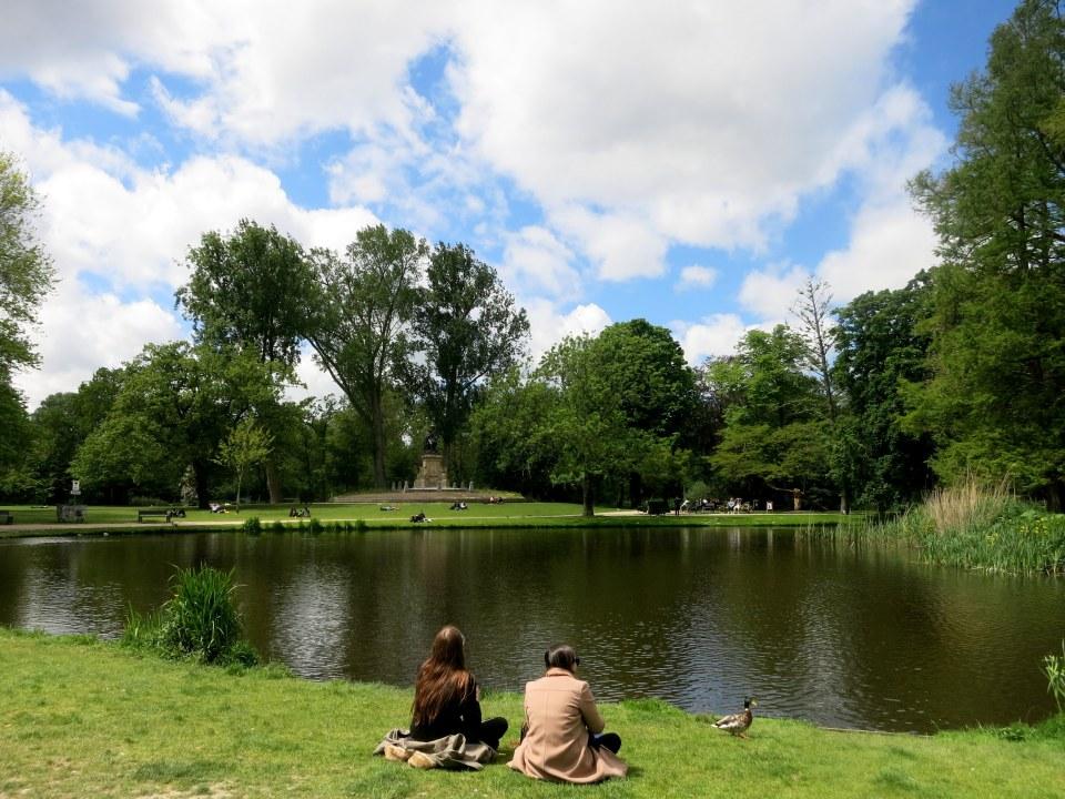 vondelpark quiet
