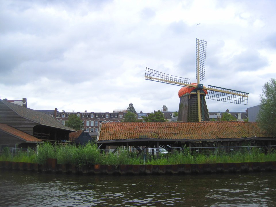 Molen de Otter is the only remaining sawmill in Amsterdam and last operated as a working mill in 1925.