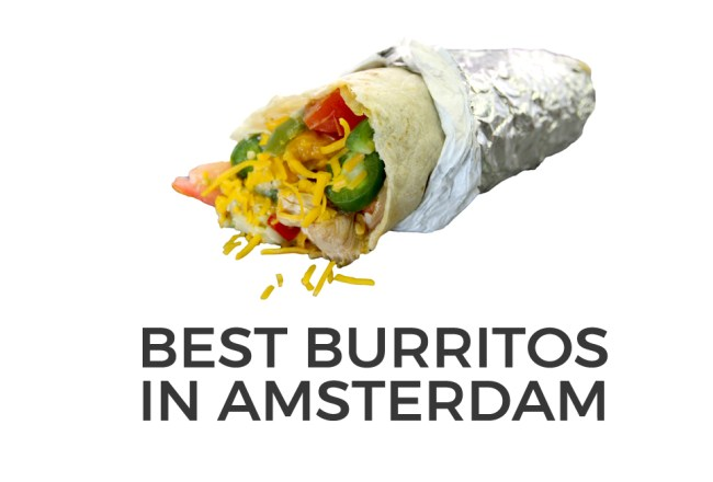 BEST BURRITOS AMSTERDAM