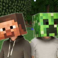 Steve & Creeper Masks