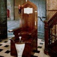 Wooden Toilet Throne