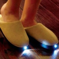 LED Flashlight Slippers
