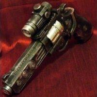 Steampunk Gun Laser Light