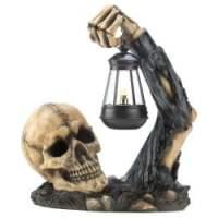 Sinister Skull with Lantern