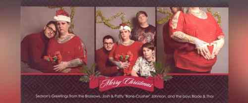 Medium Of Christmas Family Pictures