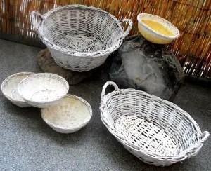 Not so dipped baskets – a DIY fail