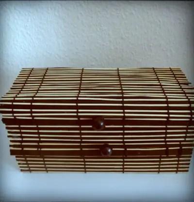 The Krimskrams Korb – a diy upcycled placemat basket