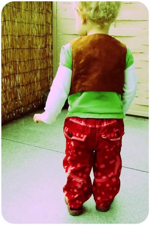 Personalized DIY Bleach Printed Pants