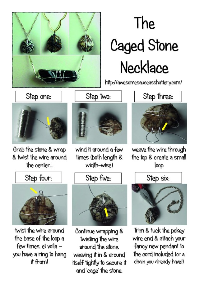 caged stone how-to