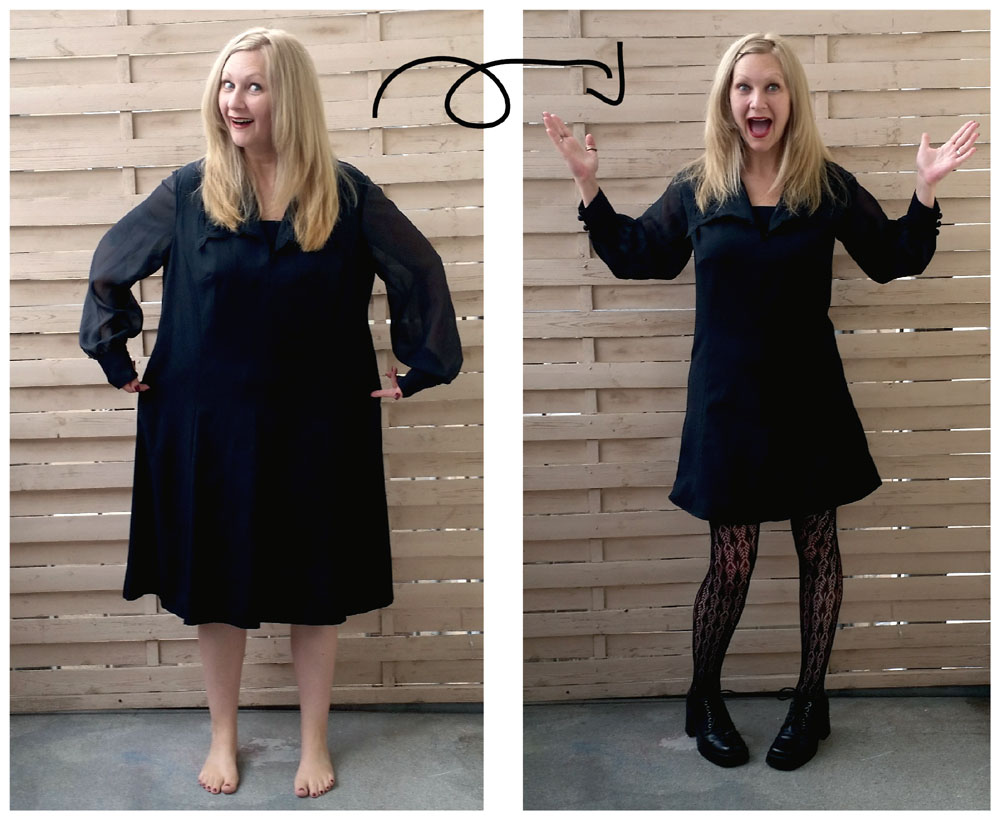 Shrink That Dress: a DIY Tailoring Tutorial