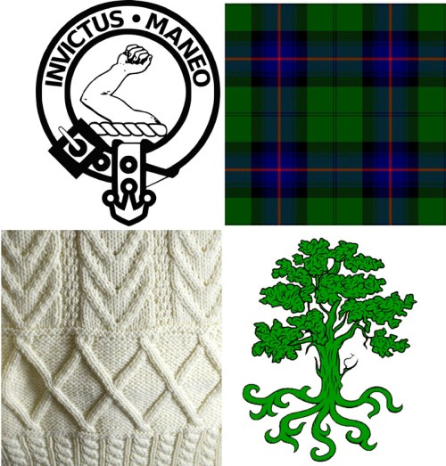 Scottish & Irish Clan Symbols 800