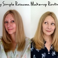 My simple rosacea make-up routine