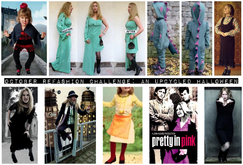 October Refashion Challenge: An Upcycled Halloween