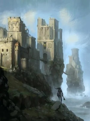 pyke castle and seat of house greyjoy by zippo514