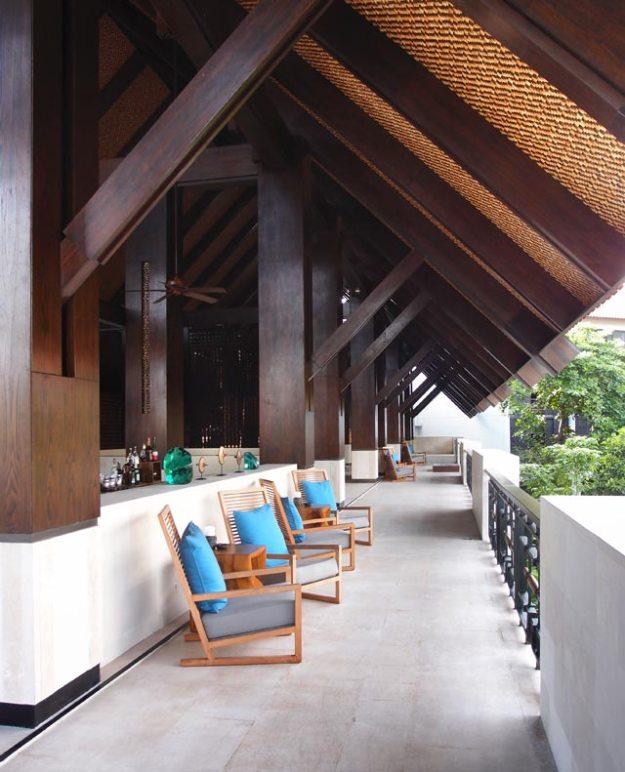Fairmont Bali--Lobby旁的走廊