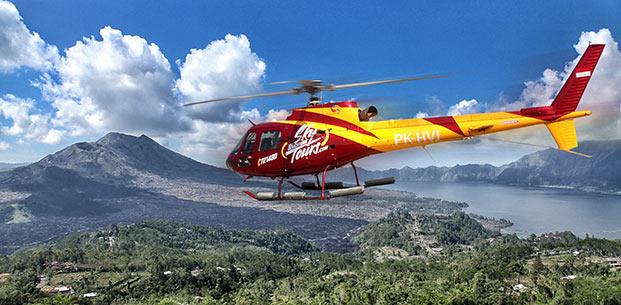 巴里島行程-搭直昇機欣賞金塔馬尼火山
