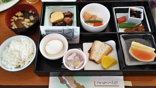 北海道富良野飯店Furano Natulux Hotel日式早餐
